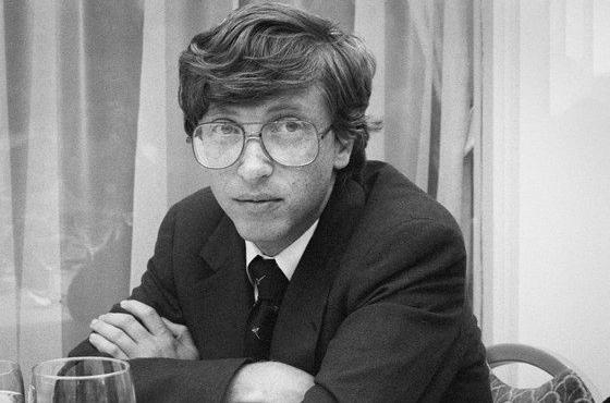 Bill Gates, CEO Microsoft hồi còn trẻ