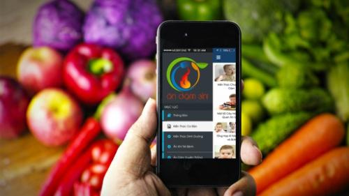 Ứng dụng của anh Hoàng Cường thu hút hàng chục nghìn lượt tải trên iOS và Android.