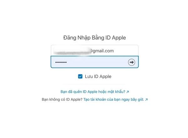 Truy cập đường dẫn trang web Báo Cáo Sự Cố của Apple Store
