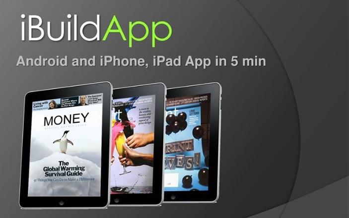 iBuildApp là một trong những nền tảng hỗ trợ xây dựng phần mềm ứng dụng đơn giản