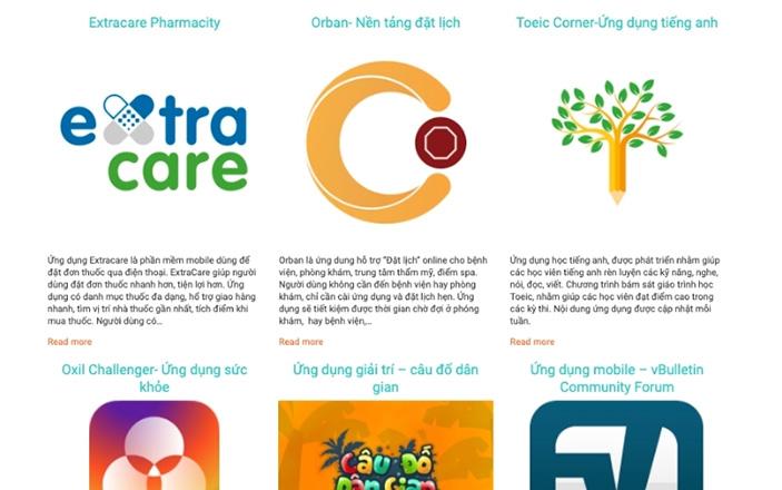 Một số phần mềm ứng dụng được xây dựng bởi đội ngũ lập trình Pixa Studio