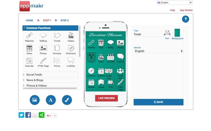 Appmakr là một trong những nền tảng phát triển phần mềm ứng dụng phổ biến