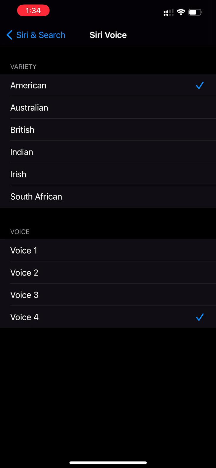 iOS 14.5: Apple ngừng mặc định Siri sử dụng giọng nữ