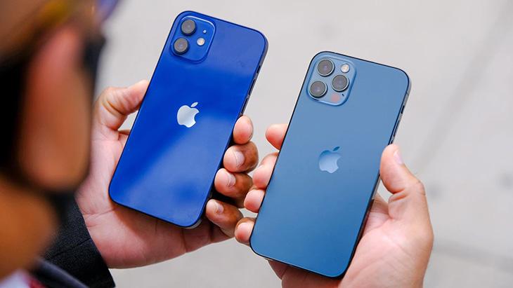 Màu xanh mới trên iPhone 13 có thiên hướng giống với màu Pacific Blue trên iPhone 12 Pro/12 Pro Max hơn