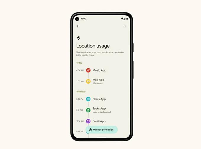 Người dùng có thể thu hồi các quyền đã cấp cho ứng dụng ngay tại đây