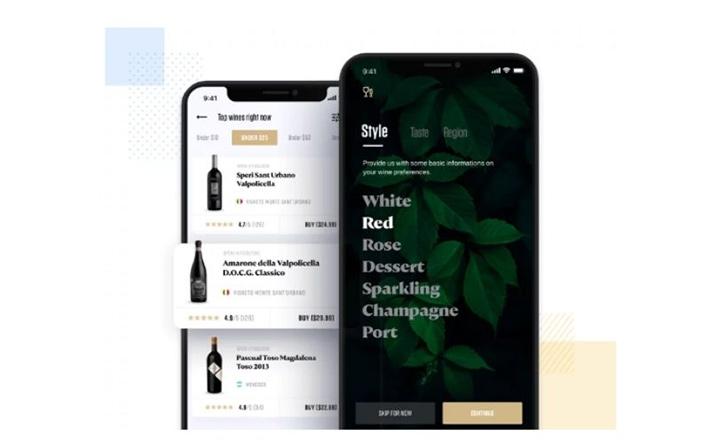 Buying wine iOS application idea
