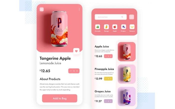 E-commerce app idea