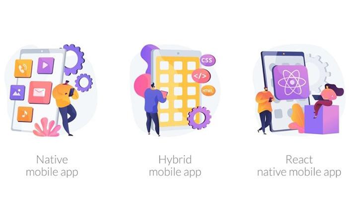 Native Mobile và Hybrid Mobile là hai loại hình app khác nhau tùy vào hướng kinh doanh của doanh nghiệp.
