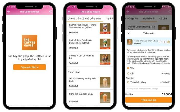 Thiết kế app di động mini trên nền tảng ví MoMo